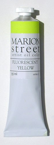 Fluorescent Yellow Artist Oil Paint 55ml.