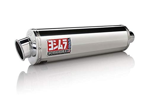 Yoshimura RS-3 Full System (4:2:1) - Stainless Steel Muffler - Aluminum End Cap , Material: Stainless Steel CB136RR