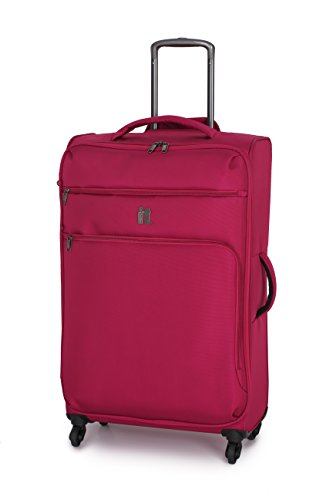 it luggage Mega lite Luggage Spinner Collection 30 Inch Upright, Cerise, One Size