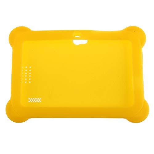 Peanutaoc Ultra Lichtgewicht Zachte Siliconen Anti-Stofhoes Effen Kleur Beschermende Hoesje Geschikt voor 7 Inch Q88 Android Tablets