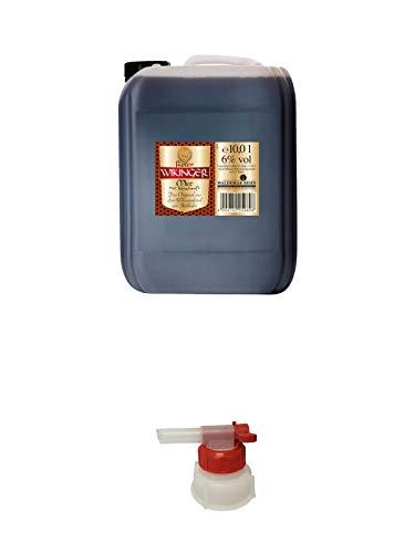 ROTER Wikinger Met 10 Liter Kanister + Pumpe für Wikinger Met Kanister