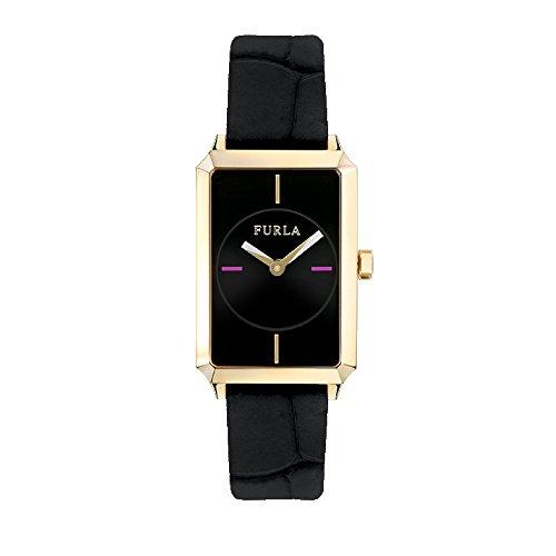 FURLA Reloj Analógico para Mujer de Cuarzo con Correa en Cuero R4251104502