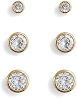 Aldo Earrings Set for Women, Multi Stones