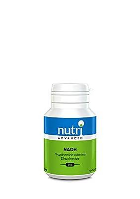 Nutri Advanced NADH 5mg 60 Tablets (Niacin Vitamin B3) by Nutri