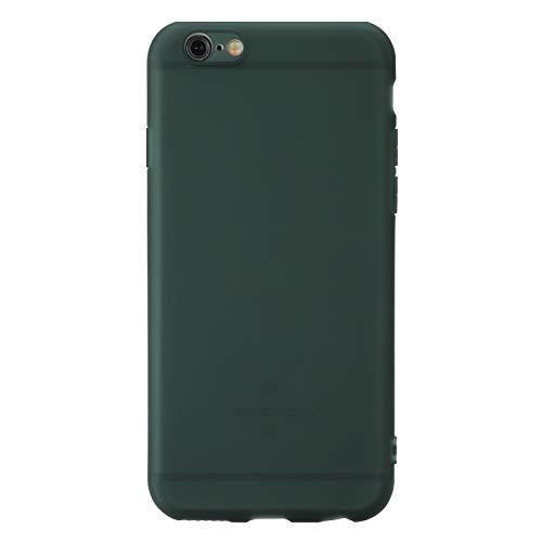 Cover per Apple iPhone 6 Plus 6S Plus Verde TPU Flessibile Morbida Ultra Sottile Anti Graffio HD Case Custodia Compatibile Smartphone