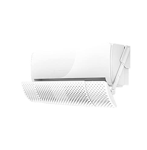 X-Toy 2021 Nuovo deflettore del condizionatore d'Aria, deflettore del Filtro del Carbonio attivato Deflettore, prevenire l'aria Fredda di soffiare Dritto