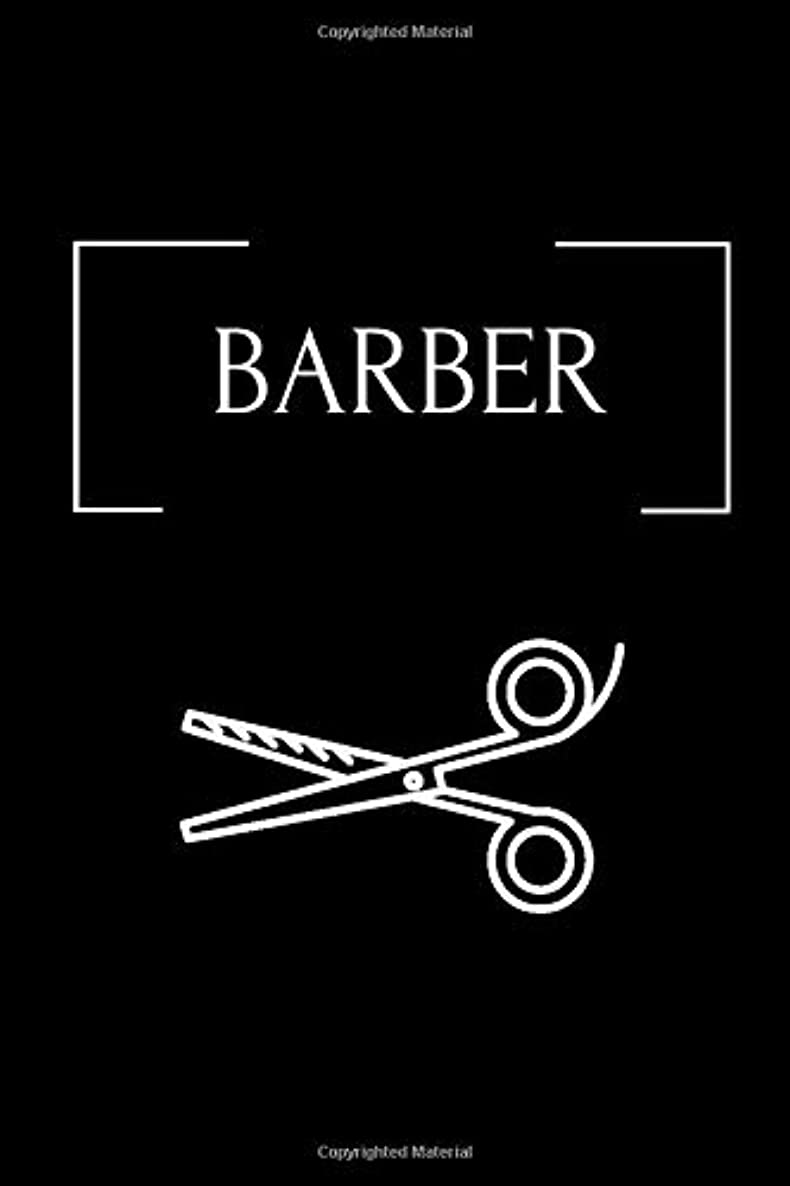 BARBER: Appointment Book for Salons, Spas, Hair Stylist, Beauty, Barber,Appointment Book with Times Daily and Hourly Schedule ( Book 15 Minute)
