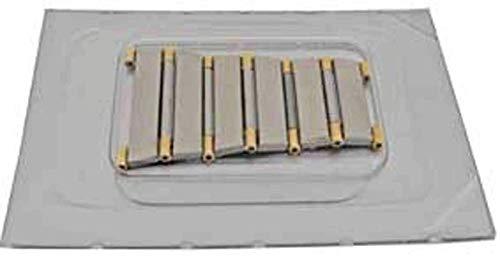 Auténtico Reloj de Pulsera Omega con Extremo de eslabón, Acero con Media Barra con Tapa de Oro Amarillo de 18 Quilates, Omega 119DE1448431