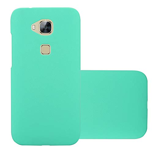 Cadorabo Hülle für Huawei G7 Plus / G8 / GX8 in Frosty GRÜN - Hardcase Handyhülle aus Plastik gegen Kratzer & Stöße - Schutzhülle Bumper Ultra Slim Back Hülle Hard Cover