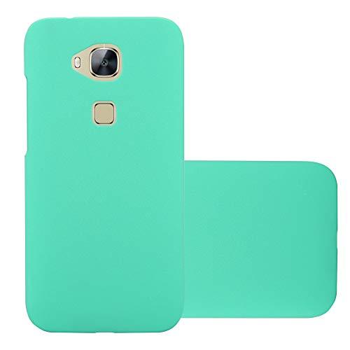 Cadorabo Funda para Huawei G7 Plus / G8 / GX8 en Frosty Verde - Cubierta Protección de Plástico Duro Super Delgada e Inflexible con Antichoque - Case Cover Carcasa Protectora Ligera