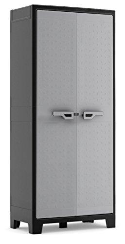KIS Aufbewahrungsschrank Titan Multispace XL grau