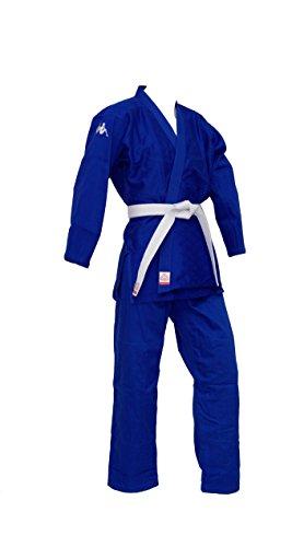 Kappa4Judo Los Angeles, Judogi Unisex – Adulto, Blu, 5/180 cm