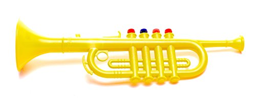 Antonelli Yellow Trumpet Horn for Kids