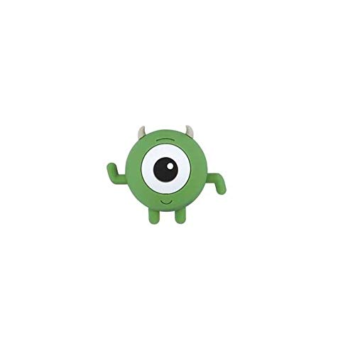 Monsters & CO Disney - Llavero con diseño de Mike Wazowski en 3D (6 cm)