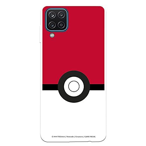 Funda para Samsung Galaxy A12 - M12 Oficial de Pokémon Poké Ball. Elige el diseño Que más te guste para tu Samsung Galaxy A12 - M12