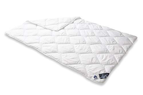 Badenia Bettcomfort Irisette Edition Steppbett, Mono Bettdecke für den Übergang, 135 x 200 cm, weiß