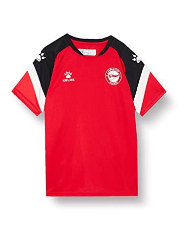 Deportivo Alavés Equipación Oficial Entrenamiento Camiseta Entreno Infantil Alavés Rojo 20/21, Unisex Niños, 8 (Años)