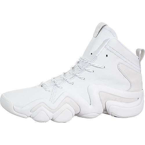 adidas Mens Crazy 8 ADV (ASW) Casual Shoes, White, 9.5