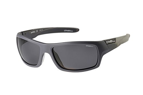 Oneill ONS Barrel Polarised Sunglasses - Matt Grey/Solid Smoke