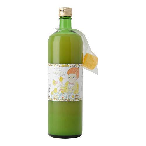 かたすみ(果+実) 有機レモン果汁 100%ストレート 900ml 1個