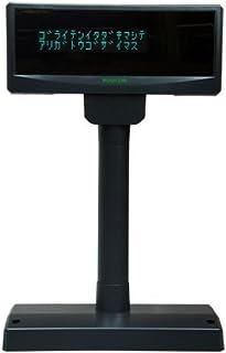 BUSICOM 【1年保証】 カスタマディスプレイ 黒(ブラック) (USB接続モデル) EPSON互換モード搭載 BC-VF3100U-B+PS3100(電源付)