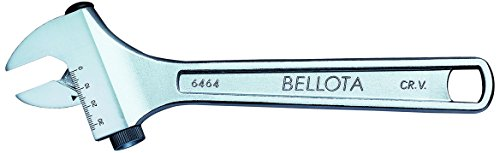 Bellota 6464-8 llave ajustable moleta lateral - 8, Standard, 8 mm