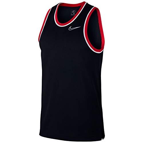 Nike M Nk Dry Classic Jersey ohne Ärmel für Herren XL Schwarz, Schwarz, Weiß