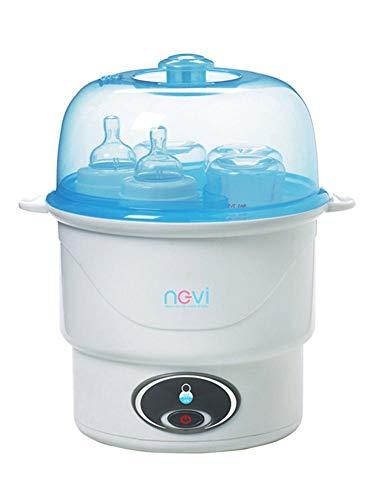 Flaschen Sterilisator Doppelt Elektrischer Dampfsterilisator VapoMat Vaporisator Ein-Knopf-Sterilisator Für Babys Anti-Trocken Aus Edelstahl