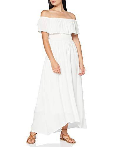 Springfield 5.Pc.Vestido Smoking Crud-C/97 Vestido de Fiesta, Blanco (White_Print 97), 38 (Tamaño del Fabricante: 38) para Mujer