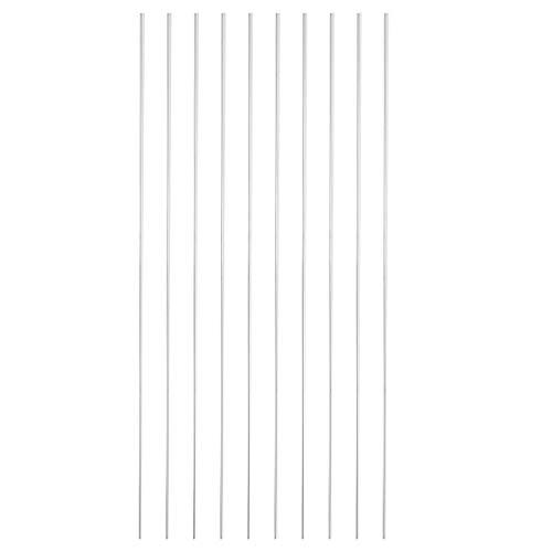 Equipos de soldadura 10pcs 2mmx45cm Aluminio Barra de soldadura de soldadura de baja temperatura para todas las piezas Herramienta de soldadura (Color : 5Pcs)