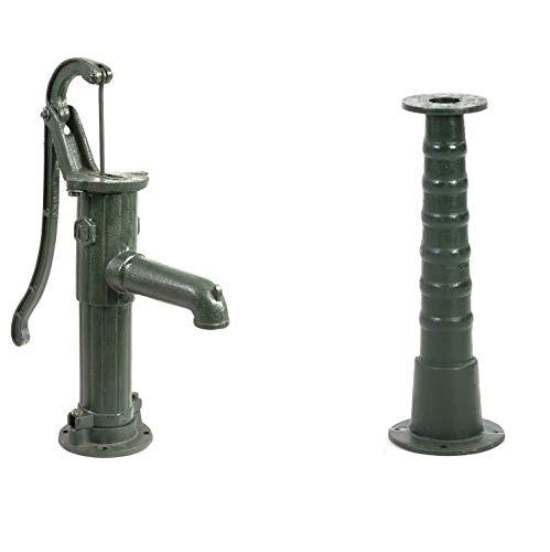 Ribelli Schwengelpumpe Gartenpumpe Handschwengelpumpe Wasserpumpe Handpumpe + Ständer