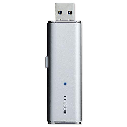 エレコム 外付け ポータブルSSD 1TB USB3.2(Gen1) PS4(メーカー動作確認済) スライド式 直挿し シルバー ESD-EMN1000GSV