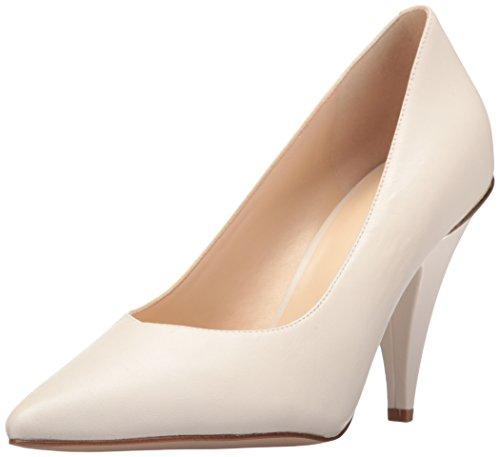 NINE WEST Whistles, Zapatos de tacón con Punta Cerrada para Mujer, Color Blanco, 37.5 EU