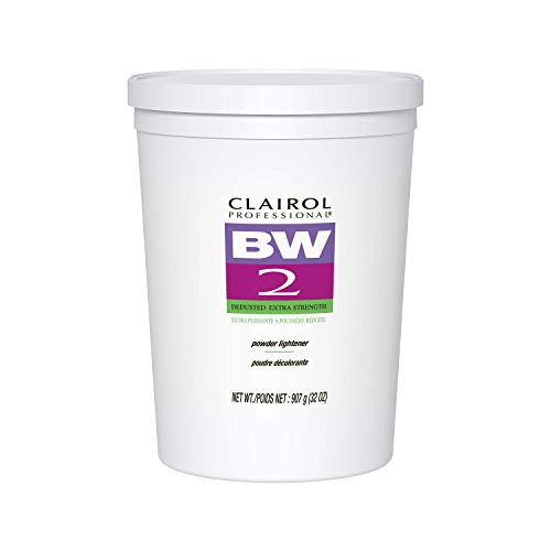 Clairol BW2 Powder Lightener for Hair Coloring, 8 oz