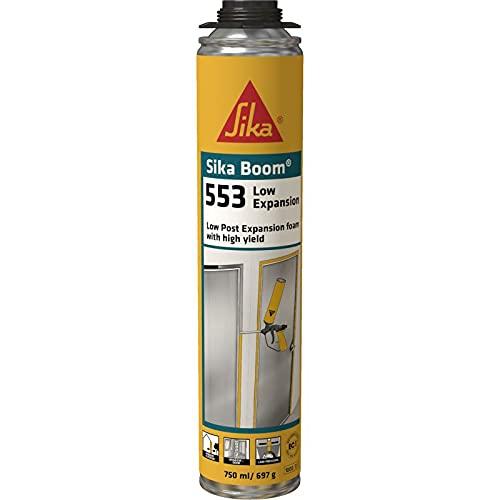 Sika Boom-553 Low Expansion - Espuma de poliuretano de baja expansión