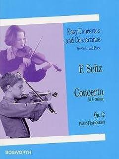 Konzert g-Moll op.12 : für Violine (1. und 3. Lage) und Klavier