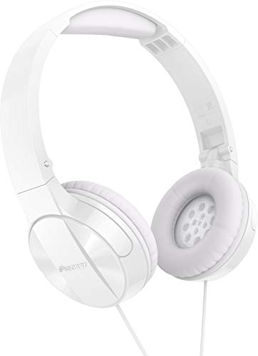 Pioneer MJ503 On-Ear Headphones with cable (high and balanced sound...
