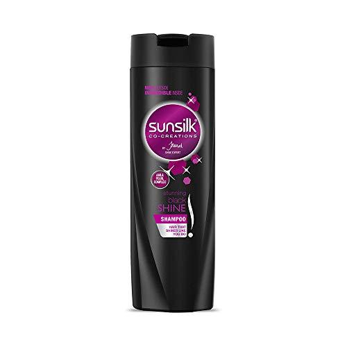 Sunsilk Stunning Black Shine Shampoo, 340 ml