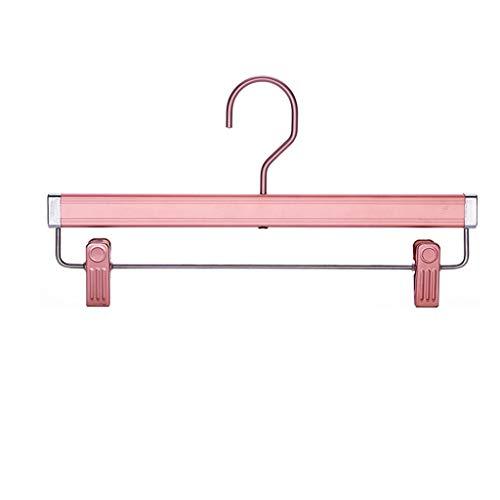 Broek Rek Broek Clip Huishoudelijke Aluminium Hangers Met Clip Hangers Geen Sporen Drogen Ondergoed Panties Rok Clips Anti-Vorst Plooien 5 Pack XINYALAMP