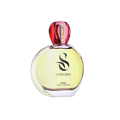 SANGADO Fragrances Mme Scanlon Parfum pour Femme, 8-10 heures Longue durée, Chypré Floral, Essences Françaises fines, Extra-Concentré (Parfum), 60 ml Spray