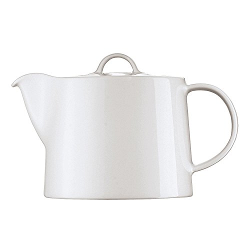 Arzberg Cucina Teekanne / Kaffeekanne / 2 Personen, Tee Kanne, Porzellankanne, Basic White, Porzellan, 800 ml, 42100-590003-14144