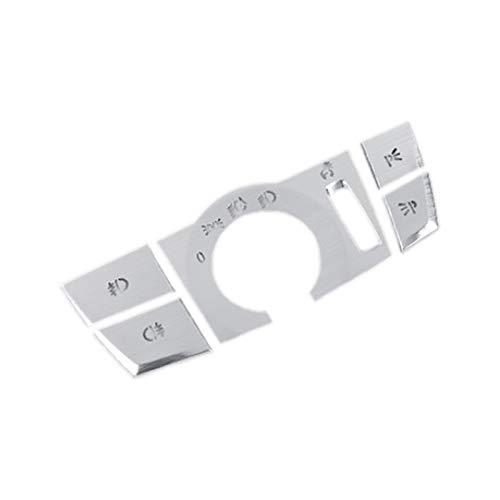 gis Ajuste Para 5 Series G38 G30 6GT F10 Coche Interruptor De Interruptor De Interruptor De Interruptor De Enchufe De Ajuste Accesorios Accesorios Para 6 Series G01 X3 X4 F25 (Color Name : Silver)