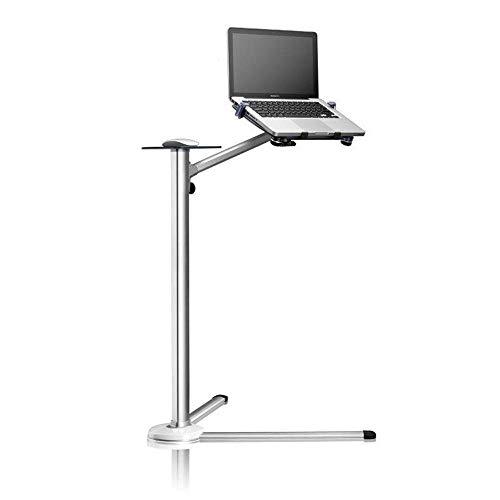 Soporte del Piso de la Tableta, Soporte de Piso de Laptop Ajustable de Altura de rotación Completa de 360 Grados, aplicable a 3.5~6 Pulgadas de teléfono Inteligente y 7~13 Pulgadas iPad ZDWN