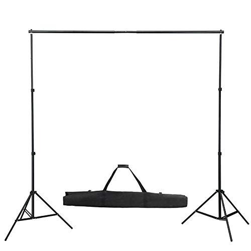 Fotostudio Hintergrundsystem & Stativset mit Transporttasche