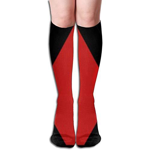 Hunter X Hunter Association - Calcetines elásticos para mujer, diseño de rayas sobre la rodilla, para niñas