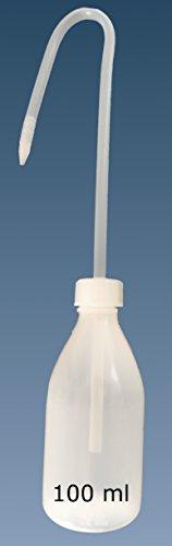 Spritzflasche, Enghalsflasche PE rund incl Spritzaufsatz (100 ml)