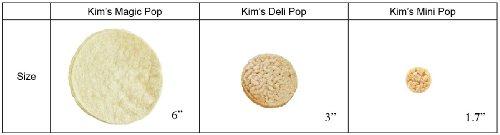 Kim's Mini Pop Freshly Popped Rice Crisps | Keto, Vegan | 12 Pack | Low Carb, Sugar Free, Fat Free, Natural, Multigrain Korean Snack | Easy Bread, Chip, Cracker Replacement | 20 Cal Per Serving