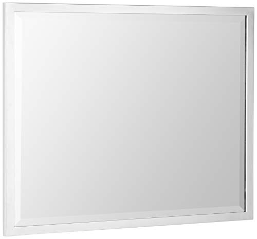 Head West 24 x 30 Classic Chrome 1 in. Wide Metal Frame -