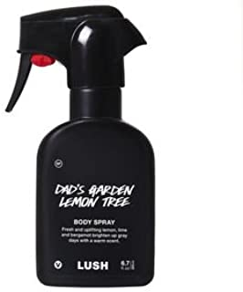 dad's garden lemon tree body spray by lush