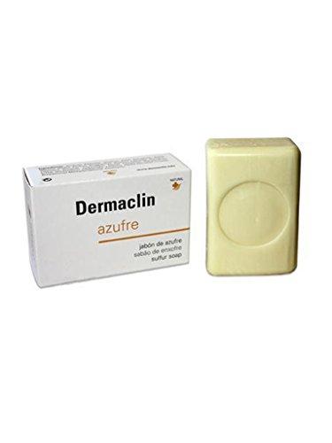Dermaclin Pastilla de Jabón de Azufre, 100g